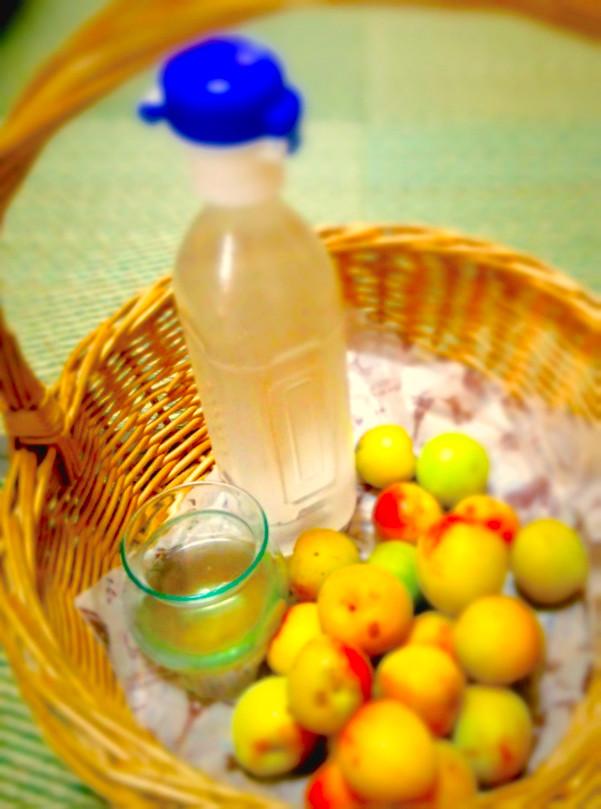 〓レンチン梅果汁で*熱中症対策ドリンク