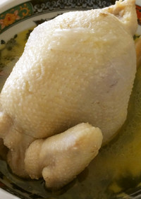 旦那が悶絶♡参鶏湯(丸鶏で圧力鍋Vr.)