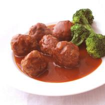 肉団子のカレートマトソース