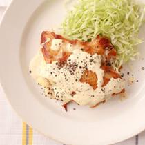 チキンのチーズはさみ焼き