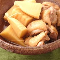 鶏とタケノコの煮物
