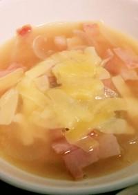 簡単チーズオニオンスープ
