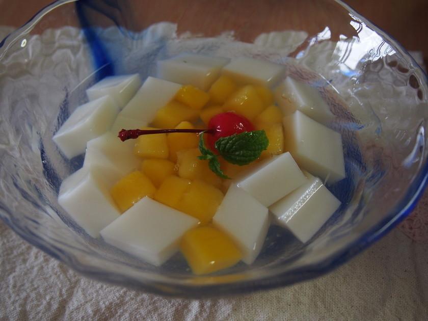グリコ・アーモンド効果の杏仁豆腐