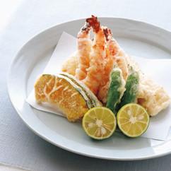 魚介の天ぷら 塩麹風味