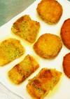 ジュワッと肉汁たれる塩サバ大葉巻きフライ