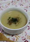 ライスミルクで☆じゃが芋の冷製スープ♪