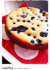 ブルーベリーヨーグルトケーキ