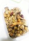 作り置き・きのことお豆のマリネ