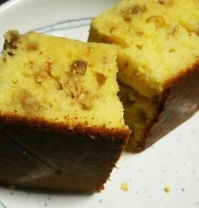 ヨーグルトとグラノーラのパウンドケーキ