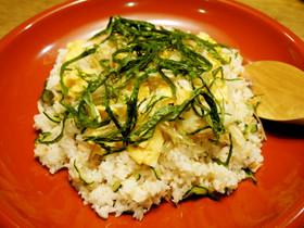 焼き鮭のちらし寿司