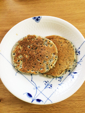 砂糖・卵不使用 HM簡単食事パンケーキ