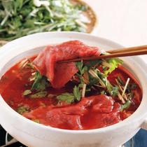 牛肉のトマトしゃぶしゃぶ