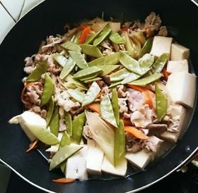 簡単☆切り落とし豚肉で肉豆腐