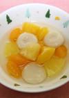 白玉フルーツポンチ【学校給食】