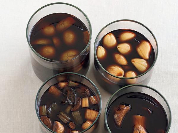 青梅醤油(写真左上)
