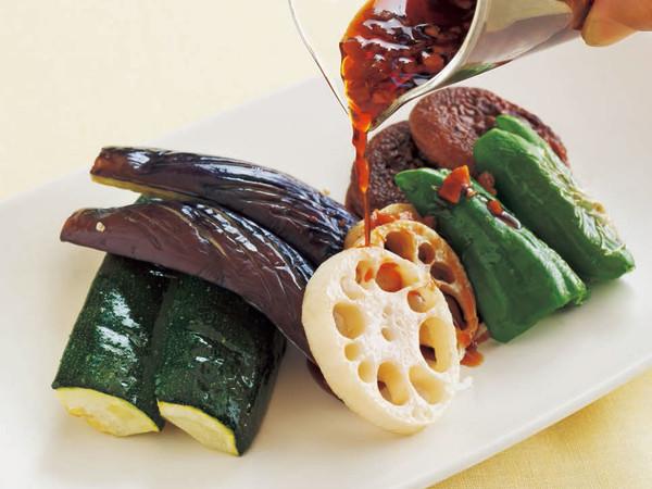 焼き野菜のサラダ