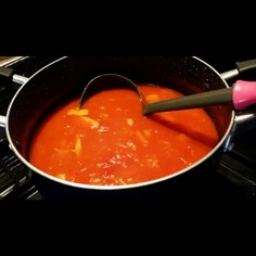 簡単☆本格濃厚トマトスープ!大量消費