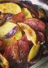 カラフルポテトのオーブン焼き