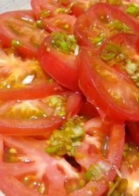 何にかけても美味いっ酢①:トマトスライス