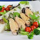 鶏手羽でタイ風蒸鶏ご飯・カオマンガイ