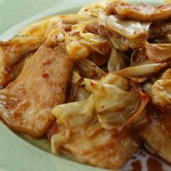 ホイコーロー風豚キムチ