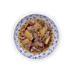 【マービー】大根と牛肉のつや煮