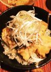 【丼研】豚の味噌角煮丼 (圧力鍋)