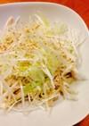 白髪葱と蒸し鶏のサラダ