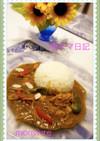 「バジルの香りのツナ缶カレー」