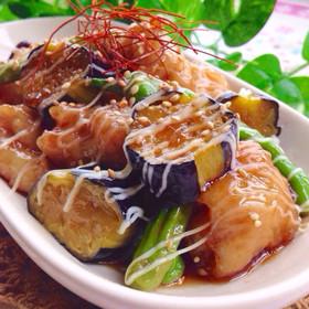 夏野菜\u0026豚バラ肉deポーク南蛮♡