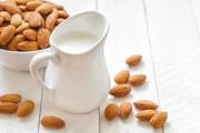 ほんのり甘い。手作り「アーモンドミルク」の写真