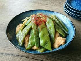 夏の旬野菜★なた豆の炒り煮