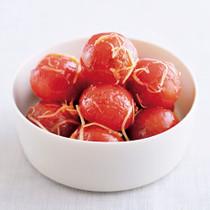 ミニトマトのジンジャーマリネ
