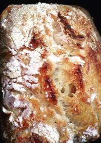 捏ねちゃダメ!一晩熟成発酵で朝の贅沢パン