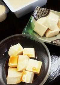 きなこと豆腐のブラマンジェ