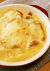 食パンとコーンスープで簡単☆グラタン