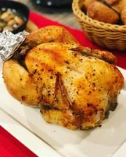 クリスマスやおもてなしに♪鶏の丸焼き☆の写真