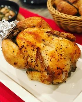 クリスマスやおもてなしに♪鶏の丸焼き☆