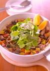 秋色野菜のパエリア風炊き込みご飯