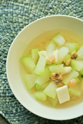 簡単!冬瓜のエスニックスープ