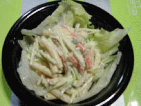 ごま味噌風味のマカロニサラダ