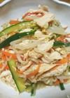 鶏ささみ&もやしの中華サラダ
