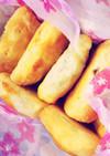 【簡単】バナナとチョコのパイ