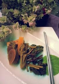 野菜のポン酢漬け