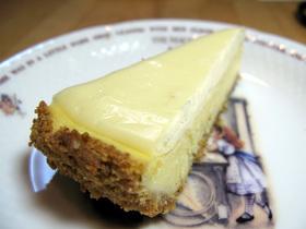 分離のチーズケーキ