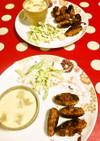 豚キムチ味!手作り!焼きソーセージ