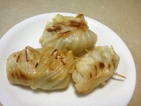糖質オフ:餃子(キャベツ包み)