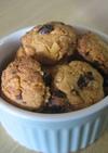 カリッと☆簡単レーズン&フレーククッキー