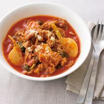 豚肉とかぶのトマト煮