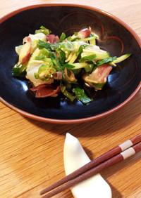 簡単!白身魚と夏野菜の和風カルパッチョ